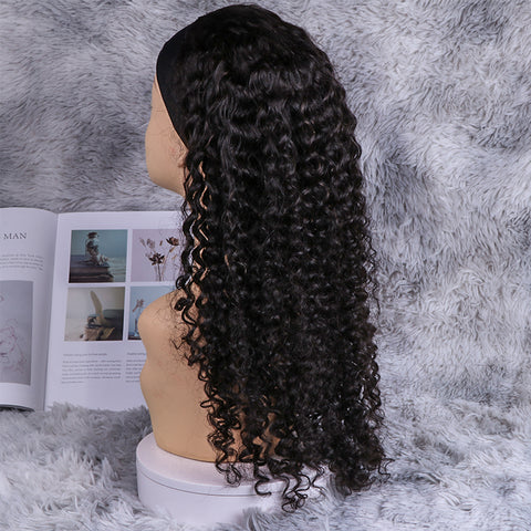 3c Afro Coily Headband Wig