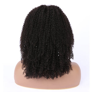 4a Afro Curly Lace Front Wig