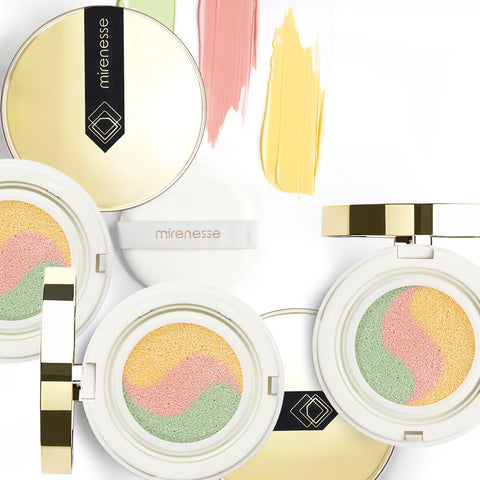 Mirenesse Tone Correcting Primer - 10 Collagen Cushion Compact