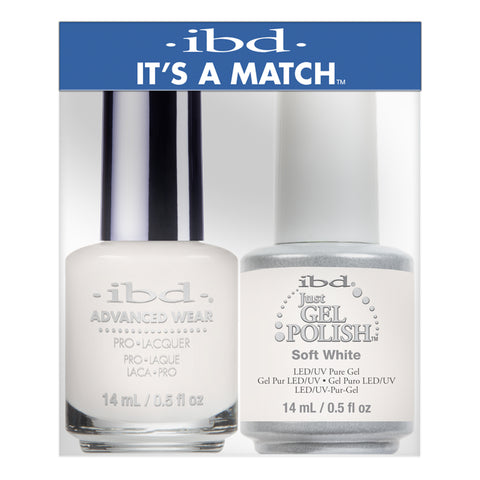 IBD Just Gel & Advanced Wear Duo - Soft White (14ml)