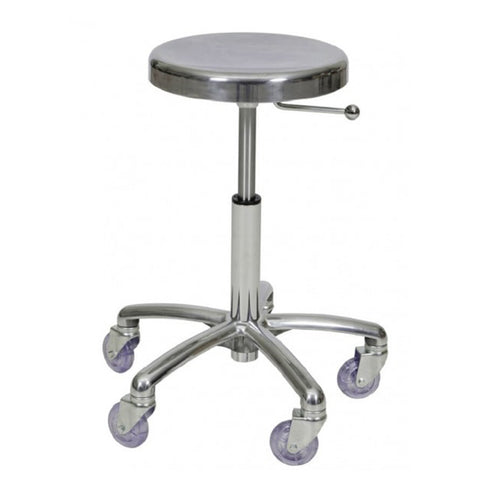 Joiken Aluminium Cutting Stool with Chrome Base