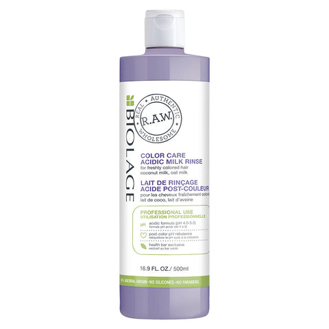 Matrix Biolage R.A.W. Color Care Acidic Milk Rinse (500ml)
