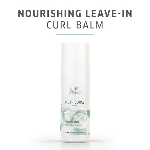 Wella Professionals Nutricurls Curlixir Balm Defining Balm for Curls (150ml)