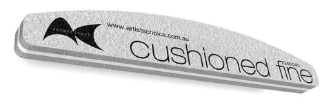 Artists Choice Professional Nail File Cushioned Harbour Bridge 240/240 - Pack of 5