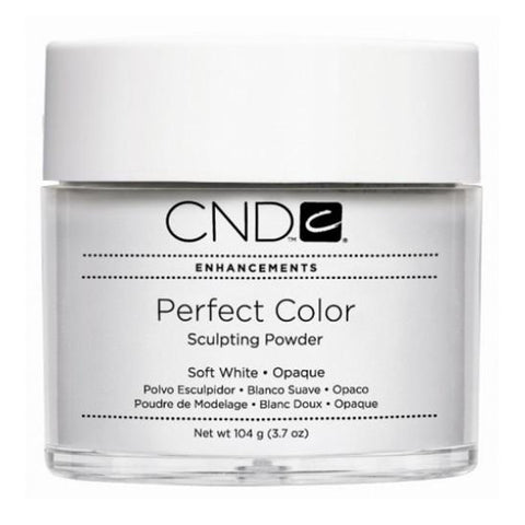 CND Perfect Color Sculpting Powder Soft White Opaque (104g)