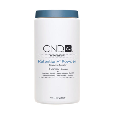 CND Sculpting Powder Retention+ Bright White - Opaque (907g)