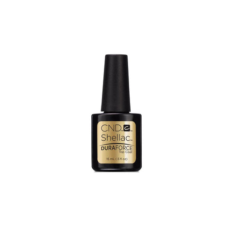 CND Shellac Base Coat (12.5ml) & DuraForce Top Coat (15ml) Pack