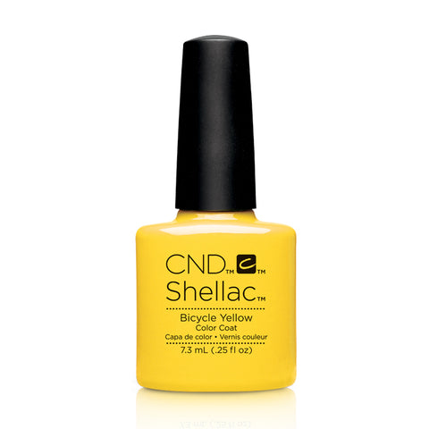 CND Shellac Bicycle Yellow 7.3ml