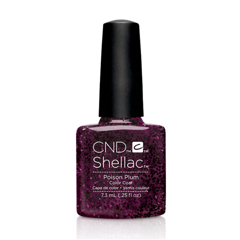 CND Shellac Poison Plum 7.3ml