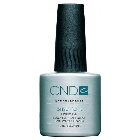 CND Brisa Soft White Gel Paint 12ml