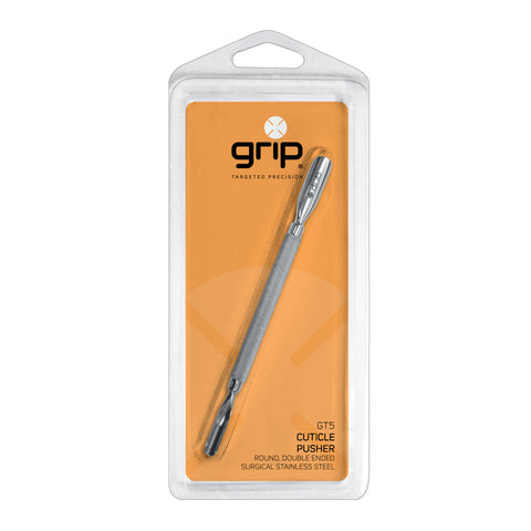 Caronlab Grip Stainless Steel Cuticle Pusher (GT5)
