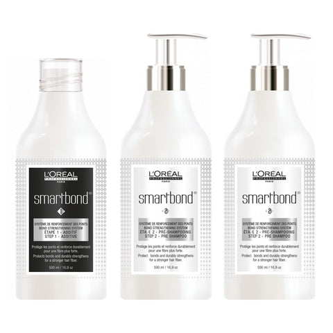 L'Oreal Professionnel Smartbond Technical Kit (3 x 500ml)
