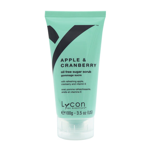 Lycon Spa Essentials Apple & Cranberry Sugar Scrub Tube (100g)