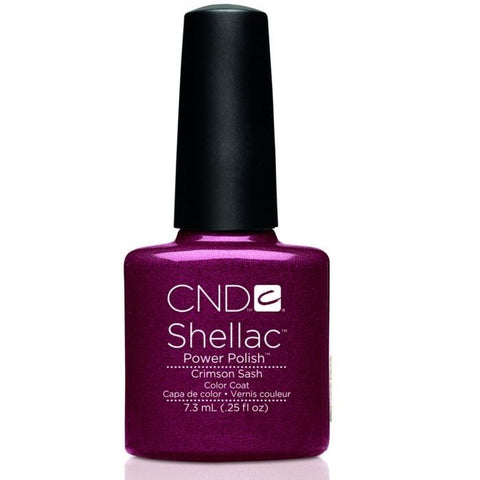 CND Shellac Crimson Sash 7.3ml