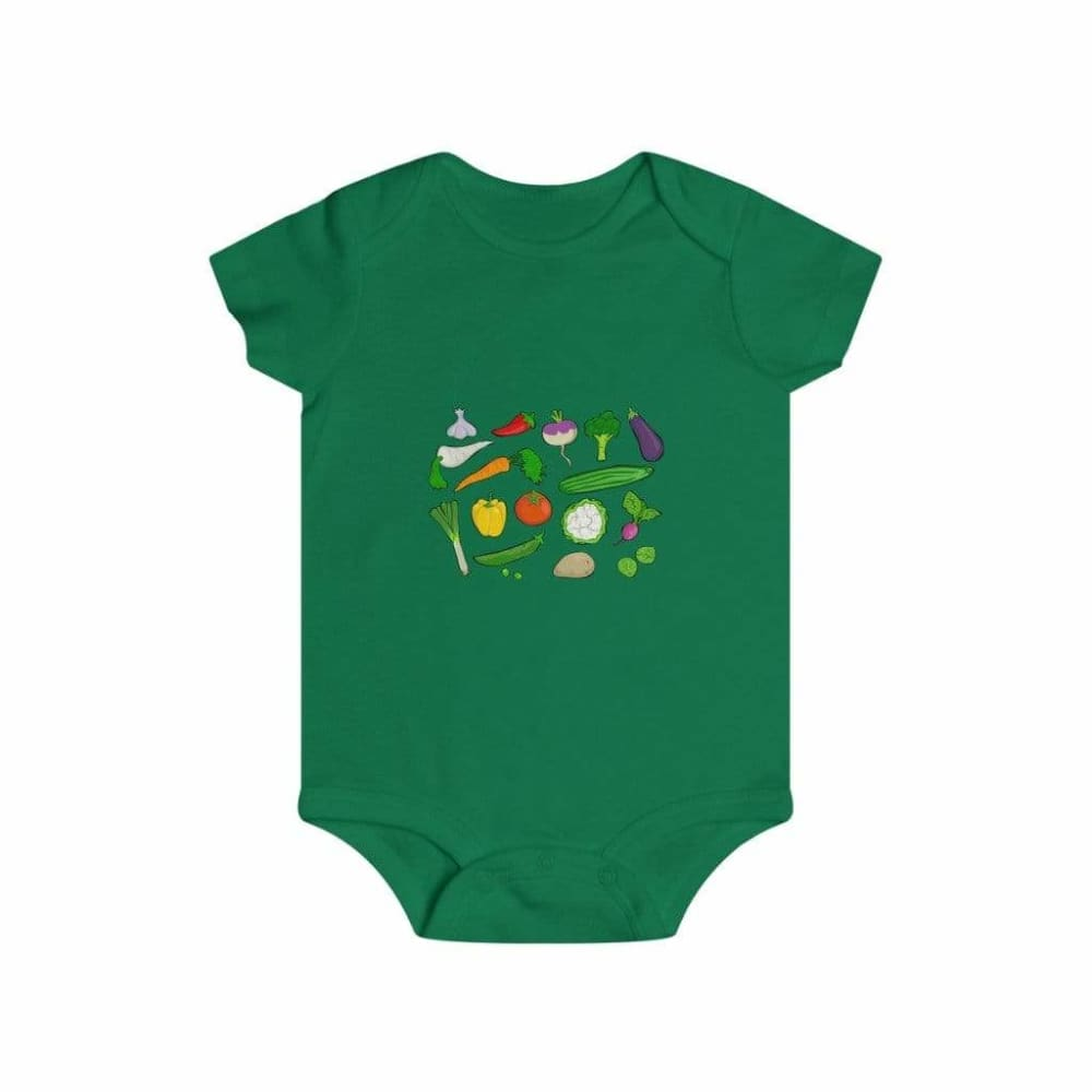 Body légumes du jardin - Kelly / 6m - Bodys - bébé - Regular