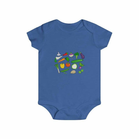 Body légumes du jardin - Royal / 6m - Bodys - bébé - Regular