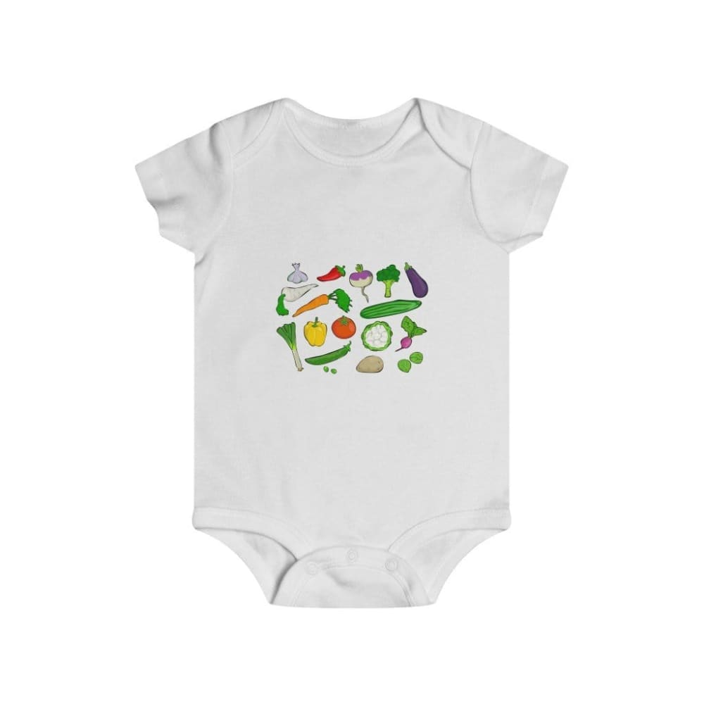 Body légumes du jardin - White / 6m - Bodys - bébé - Regular
