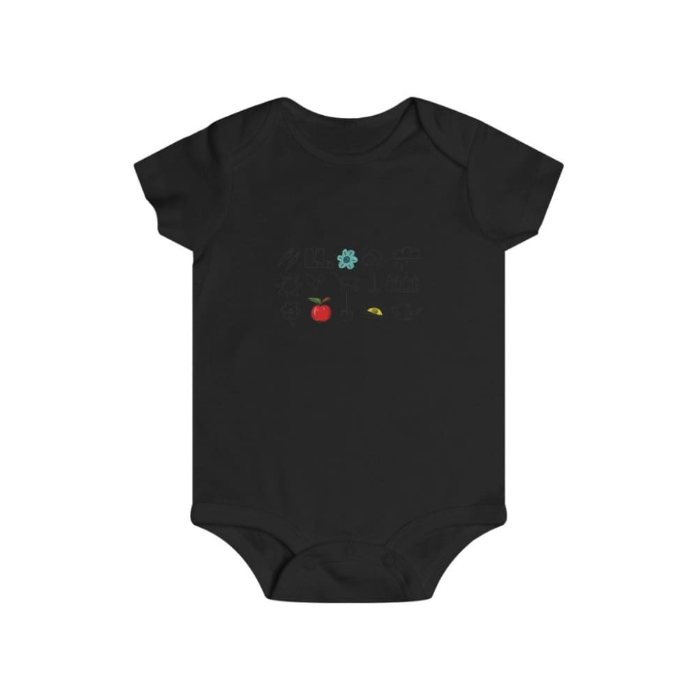 Body outils de jardin - Black / 6m - Bodysuits - DTG - Kid's