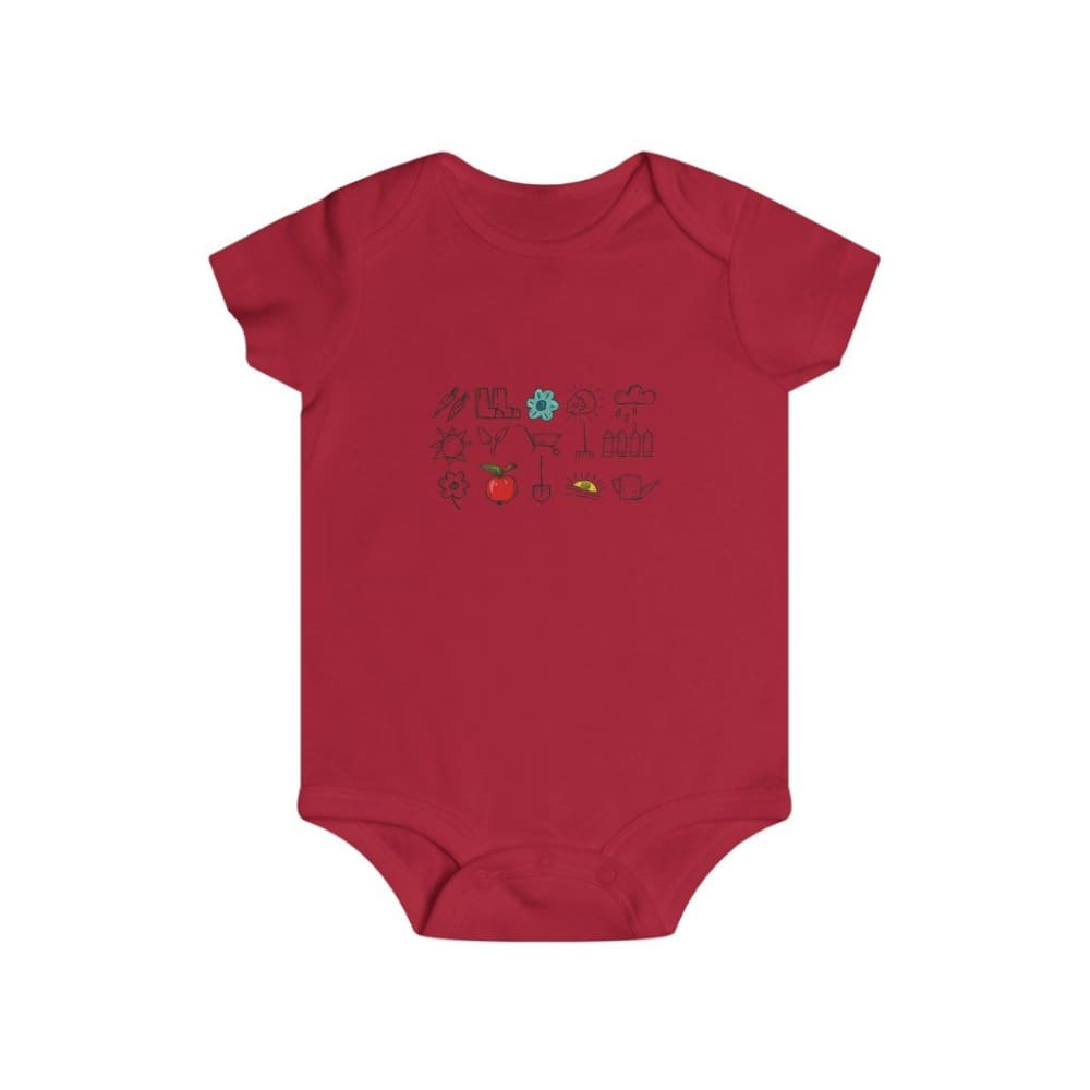 Body outils de jardin - Red / 6m - Bodysuits - DTG - Kid's