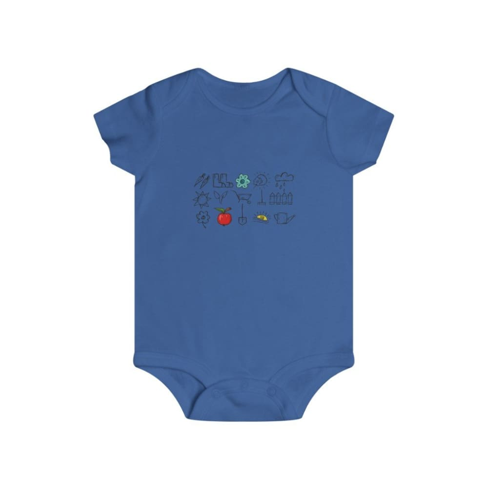 Body outils de jardin - Royal / 6m - Bodysuits - DTG - Kid's