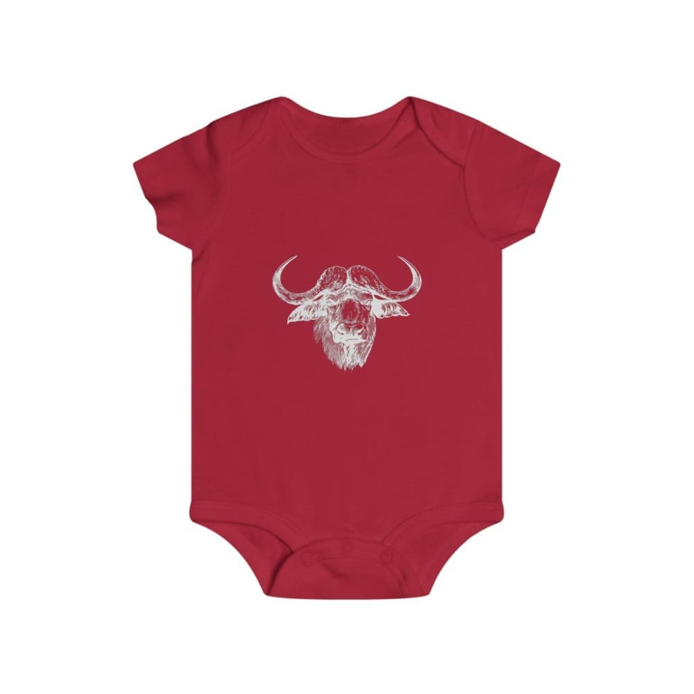 Body taureau africain - Red / 6m - Bodys - bébé - Regular