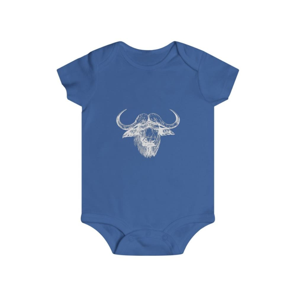 Body taureau africain - Royal / 6m - Bodys - bébé - Regular