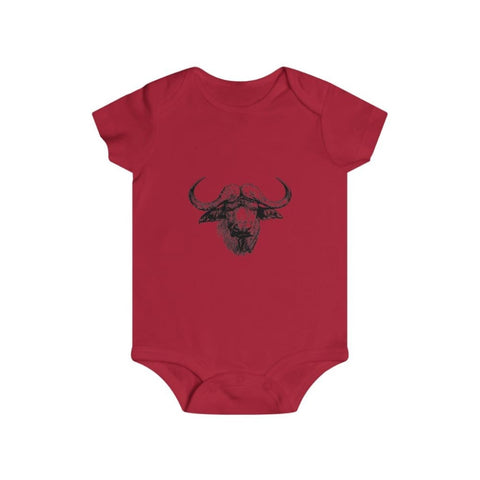 Body vache africaine - Red / 6m - Bodys - bébé - Regular fit