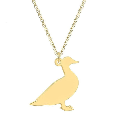Collier canard - Or