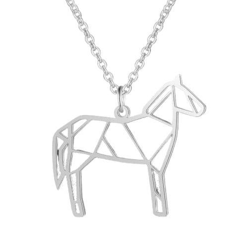 Collier cheval - JN037-1-45