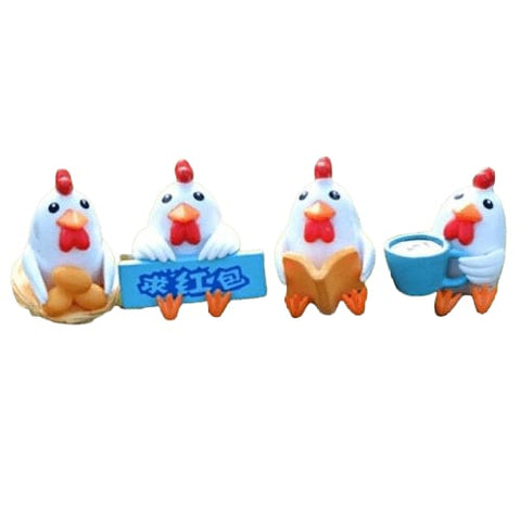 Figurine poule fun!