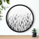 Horloge champ de plantes sauvages - Art & Wall Decor - Home
