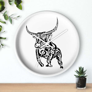Horloge taureau féroce - Art & Wall Decor - Home Living