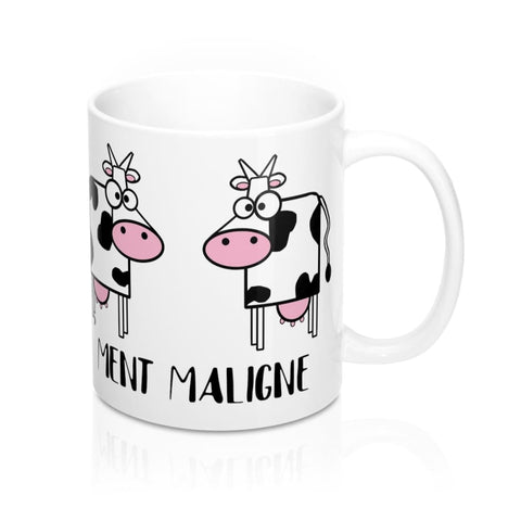 Mug 2 vaches vachement maligne - 11oz - 11 oz - Home &