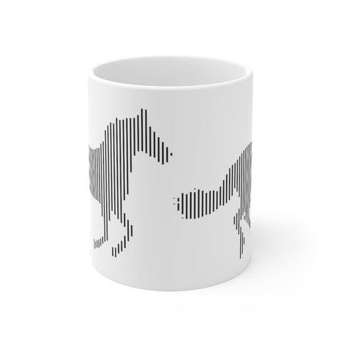 Mug cheval au galop - 11oz - 11 oz - Home & Living - Mugs -