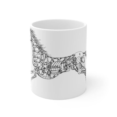 Mug cheval mécanique - 11oz - 11 oz - Home & Living - Mugs -
