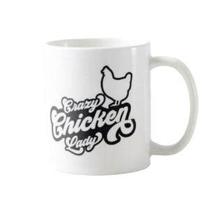 Mug crazy chicken lady - 1