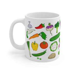 Mug légumes du jardin - 11oz - 11 oz - Home & Living - Mugs