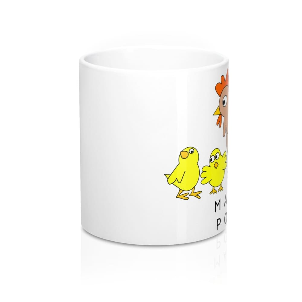 Mug maman poule cartoon - 11oz - 11 oz - Home & Living -