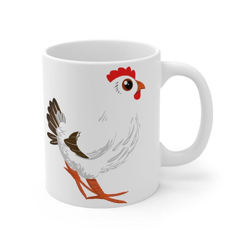 Mug poule cartoon - 11oz - Mug