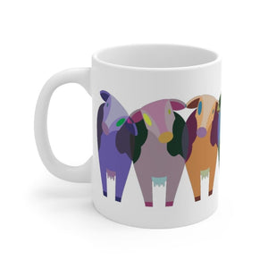 Mug vaches multicolores - 11oz - 11 oz - Home & Living -