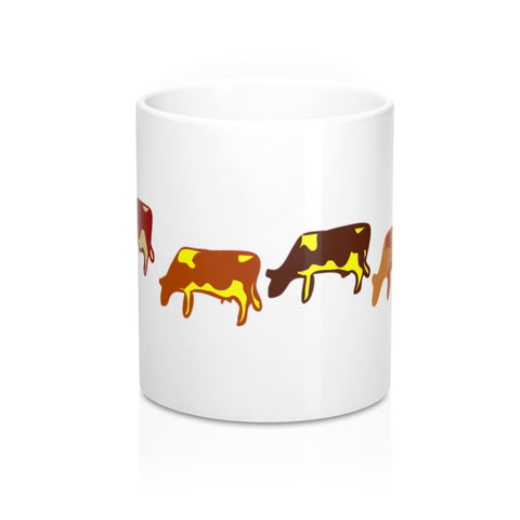 Mug vaches qui partent à la traite - 11oz - 11 oz - Home &