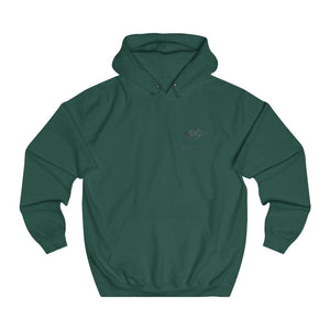 Pull à capuche Fish-moi la paix - XS / Bottle Green - DTG -