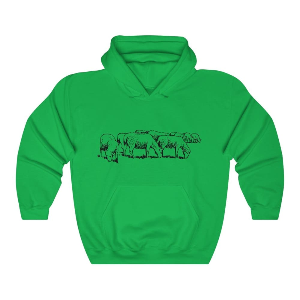Pull à capuche moutons - Irish Green / S - DTG - Hoodies -