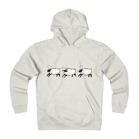 Pull à capuche moutons - Oatmeal Heather / L - DTG - Hoodies