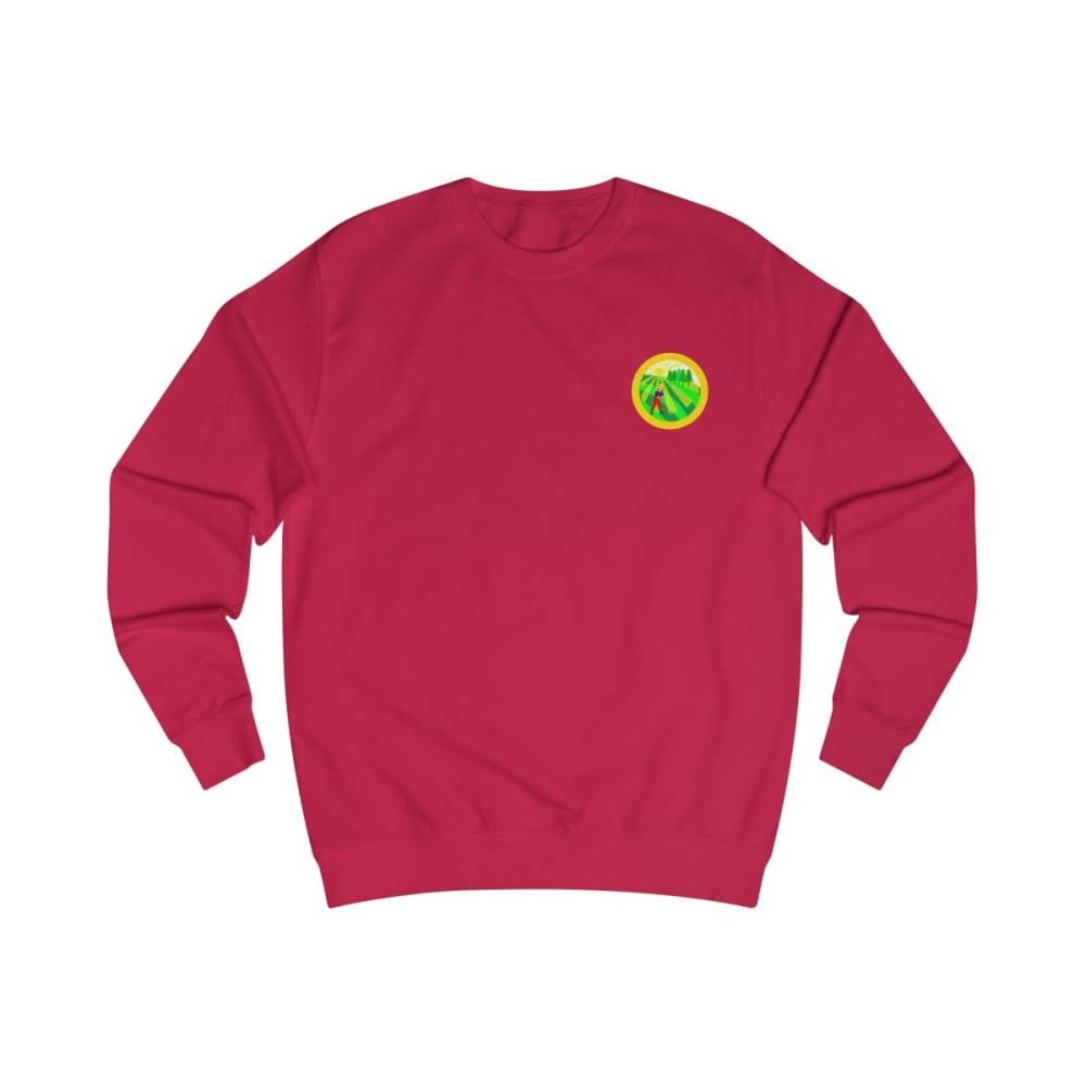 Pull agriculture jaune - Fire Red / S - DTG - Men's Clothing