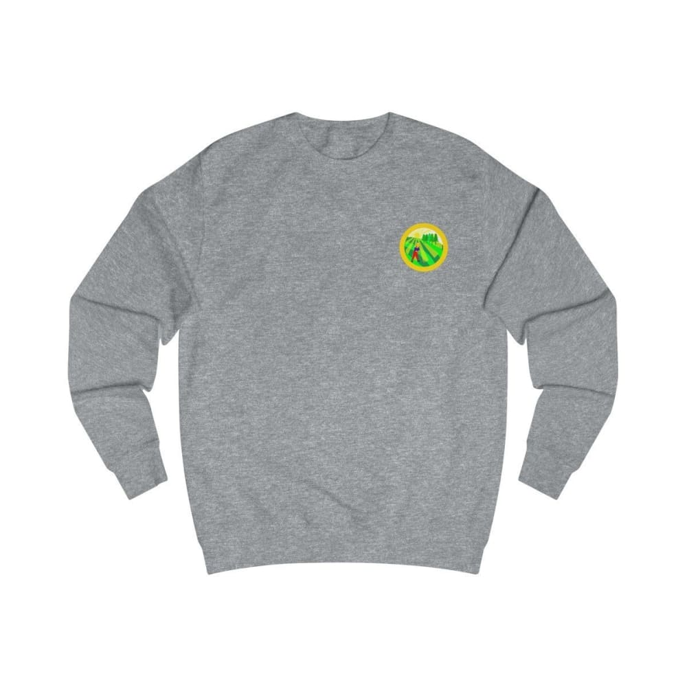 Pull agriculture jaune - Heather Grey / S - DTG - Men's