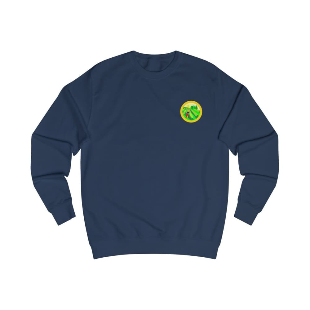 Pull agriculture jaune - Oxford Navy / S - DTG - Men's