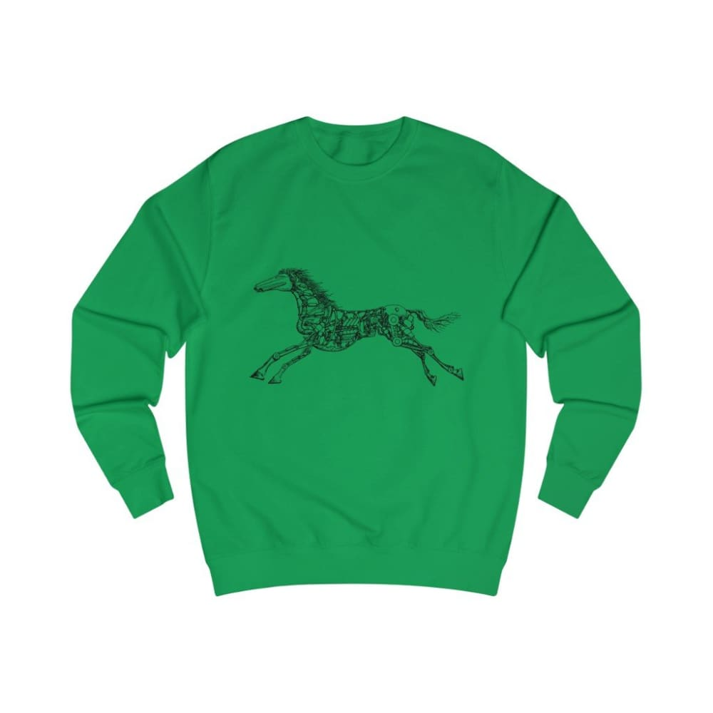 Pull cheval mécanique - Kelly Green / S - DTG - Men's