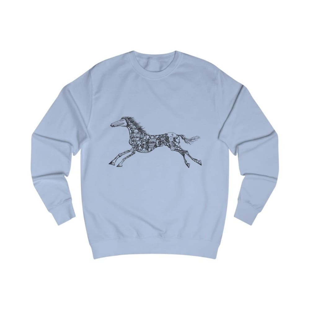 Pull cheval mécanique - Sky Blue / S - DTG - Men's Clothing