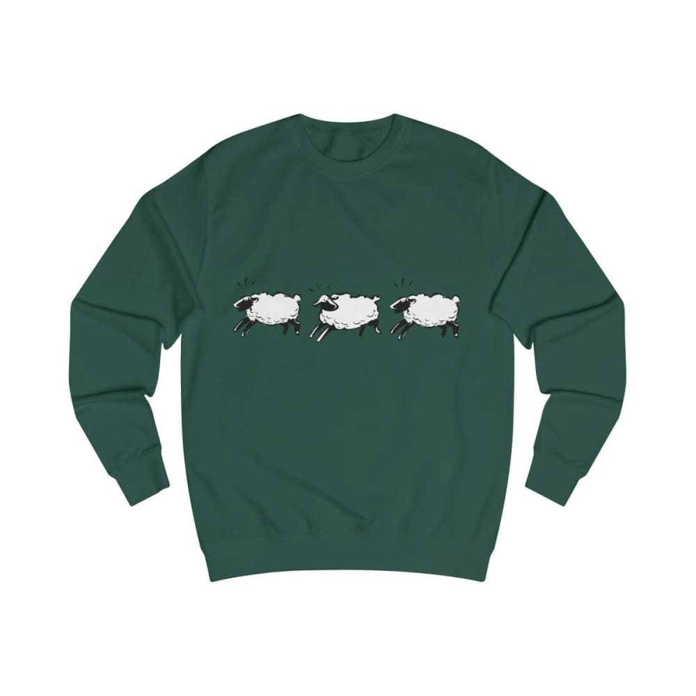 Pull moutons - Bottle Green / S - DTG - Men's Clothing -